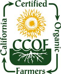 ccof certified orgainic